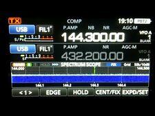 ICOM IC-9700 TRX VHF/UHF 2m/70cm/23cm PERFECT CONDITION