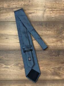 Gucci Men`s Silk Navy Blue Tie Necktie Made in Italy
