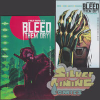 BLEED THEM DRY #2 Set of Two COVER A + B GORHAM VARIANT VAULT COMICS