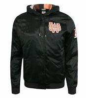 Nike Training Thermal Womens Hooded Bomber Jacket Coat Black 394370 010