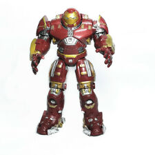 "New listing7"" Avengers Ultron Iron Man Hulk Buster Light Up Model Toys Action Figures"
