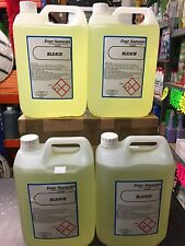 INDUSTRIAL STANDARD BLEACH 4 X 5 LITRE 20 LITRES IN TOTAL