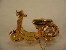 Motorroller Crystal Temptations 24k Gold mit Spectra® Swarovski® Stein