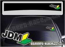 SS5067 JDM Wakaba Car sun strip graphics stickers Fits Subaru Nissan