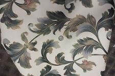 New York wallpaper roll green cream bronze laurel leaf botanical palm