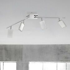 WOFI Plafonnier LED explid 4 BRAS Nickel chrome réglable 16,8 W 1360 Lumen