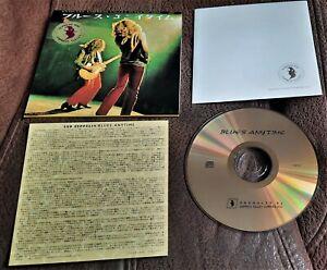 LED ZEPPELIN BLUES ANYTIME  2001 CD JAPANESE RELEASE HARD ROCK