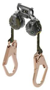 🌟MSA V-TEC Twin Leg Mini PFL Fall Limiter, 6' Self Retracting Lifeline, 310lb