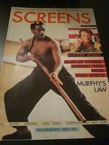 SCREENS MAGAZINE MAY 1989 EDDIE MURPHY VHS RENTAL VIDEO MAGAZINE