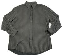 BUGATCHI UOMO Mens Long Sleeve XL Rayon Blend   Shirt