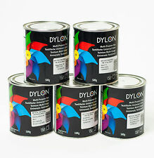 Dylon Multi Purpose Dye 500g Tin - 22 Colours availble
