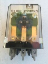 DELTROL CONTROLS RELAYS 12VAC  3PDT 5 Amps