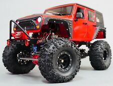 RC Scale Truck Body Shell 1/10 JEEP WRANGLER RUBICON Hard Body V3 + ROLL BARS