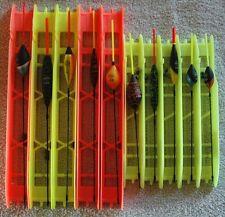 Lot 10 lignes montées différentes 7M pêche au coup flotteur Filstar/Top Float 15