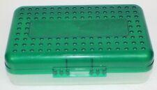 Spacemaker Pencil Box Green Vintage 90s Plastic Storage Case