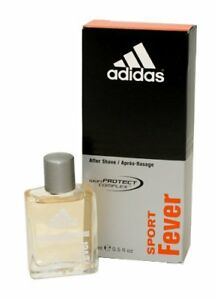 Adidas Sport Fever Aftershave For Men, .5 Oz NIB