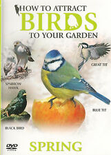 How To Attract Birds To Your Garden - Spring - DVD - BRAND NEW SEALED BLUE TIT