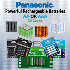 Panasonic Eneloop Pro Recharge AA / AAA Rechargeable Batteries 2/4/8/16 NiMH lot