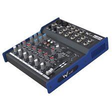 W-Audio DMIX10FX 10-Input Audio Mixer DJ Band Studio Karaoke Mixing Desk
