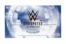 Topps WWE Undisputed Wrestling Trading Cards Hobby Box - 50 Cards