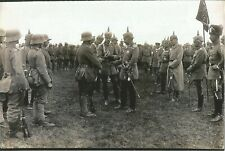 WW I German   Photo  ** Soldiers Receiving Awards  **