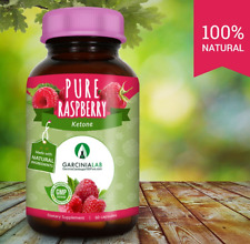 100% Pure and Natural Raspberry Ketone 500 MG 60 Capsules USA Made GMP Certified