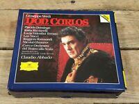 Verdi: Don Carlos; Placido Domingo;  Claudio Abbado; Grammophon;  NM 4 CD Set
