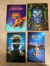 Cirque Du Soleil Tour Programmes x4 - Alegria, Amaluna, Le Grand Cirque & Avatar