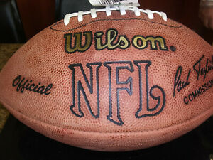 GREEN BAY PACKERS BRETT FAVRE AUTOGRAPHED AUTHENTIC WILSON FOOTBALL