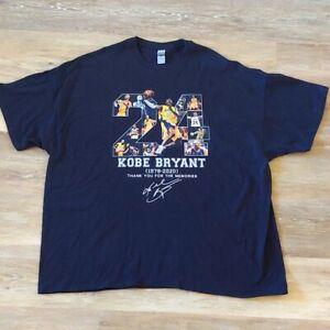 NWOT Kobe Bryant Memorial Graphic T-Shirt Size 4XL