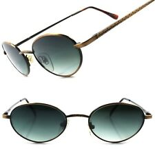 Classic Indie Deadstock Bronze Mens Womens True Vintage Round Oval Sunglasses