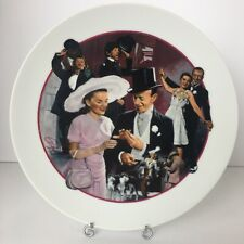 Easter Parade Avon Images of Hollywood Collectible Decorative Plate (1986)