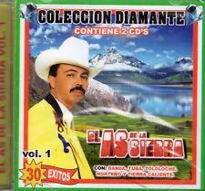 El As De La Sierra Coleccion Diamante 30 Exitos Vol 1  2CD New Sealed