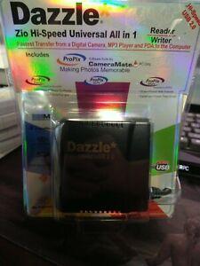 DAZZLE Zio Hi-Speed Universal 10 in 1 USB 2.0 Reader/Writer - Factory Sealed
