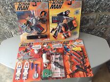 Vintage #90S 5X Lot Action Man Series #Mosc Arctic Mission Roller Blade
