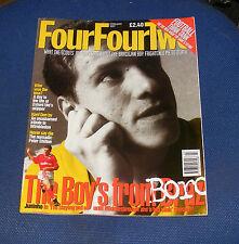 FOURFOURTWO MAGAZINE FEBRUARY 1997 - JUNINHO/ADRIAN HEATH/MIKE FORD
