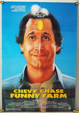 FUNNY FARM FF ORIG 1SH MOVIE POSTER CHEVY CHASE COMEDY (1988)