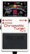 Boss TU-3 TU3 Chromatic Pedal Tuner Guitar and  and Bass Tuner Drop Tuning LED
