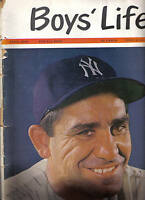 1963 (Apr.) Boys' Life, baseball, magazine, Yogi Berra, New York Yankees
