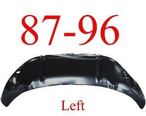 87 96 Ford LEFT Inner Wheel Arch Repair Panel, Truck & Bronco, F150, F250, F350