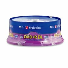 Verbatim DVD+R DL 8.5GB 8X 15-Pack Spindle