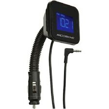 Scosche FM Transmitter 12V Universal Digital FM Transmitter for Car Stereo Radio