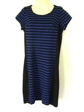 Viscose Stretch, Bodycon Hand-wash Only Striped Dresses for Women