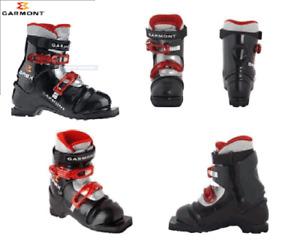 Garmont G Rex Boots Mens Telemark Jr Ski Boots 2 15/16in Plastic Child Skiing