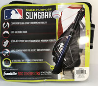 Franklin Sports Multi-Purpose SLINGBAK Baseball Equipment Bag - New