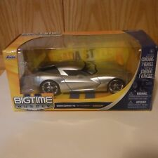 Corvette Stingray Concept - SILVER - 1:24 DIECAST MODEL CAR BY Jada
