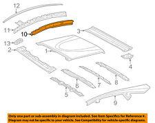 TOYOTA OEM 12-14 Prius V-Roof Reinforcement Left 6120247020