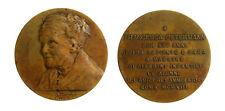 s986_3) Medaglia alla Maestra Francesca Petermann Roma 1913 AE Ø 55