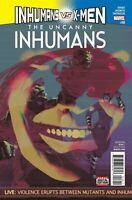 Inhumans VS X-Men Uncanny #18 Marvel Comics 1st Print 2017 Unread NM