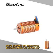 GoolRC 4076 2000KV 4P Sensorless Brushless Motor for 1/8 RC Monster Truck R7U5